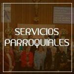 Botón servicios parroquiales