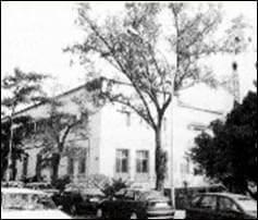 Foto del convento en blanco y negro