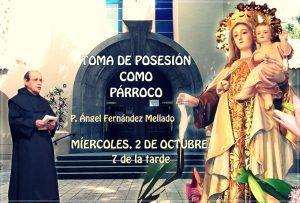 TOMA DE POSESIÓN DEL NUEVO PÁRROCO