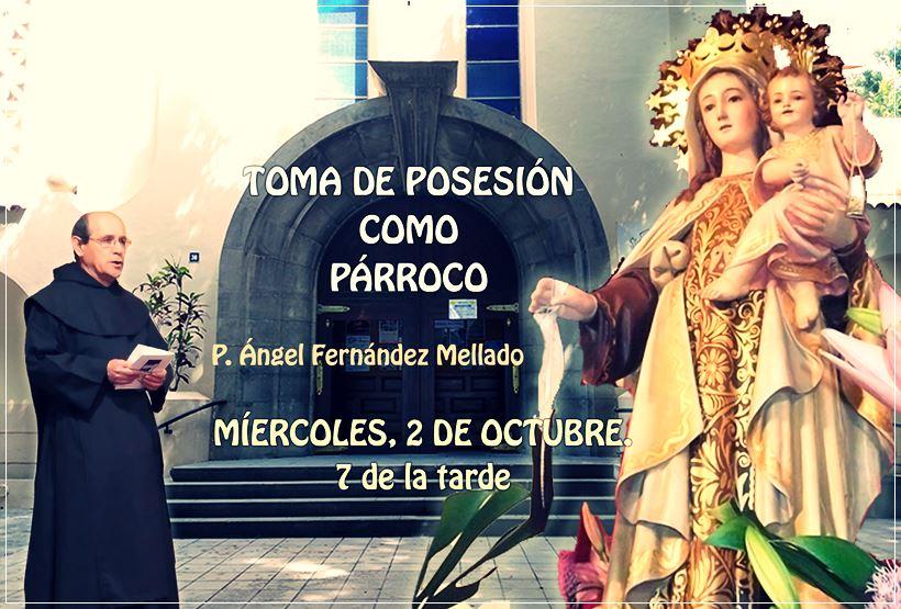 Anuncio toma de posesión nuevo párroco