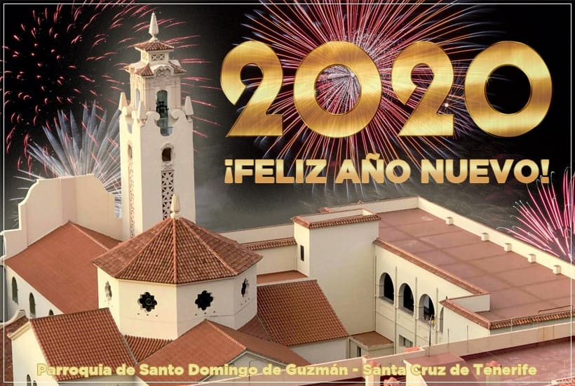 Felicitación Año 2020 Parroquia de Santo Domingo de Guzmán