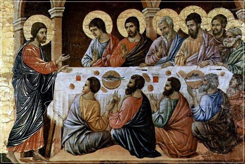 Jesús se aparece a discípulos