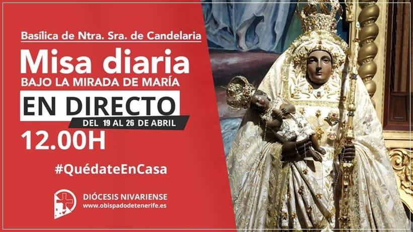Misa Directo Basílica de Candelaria