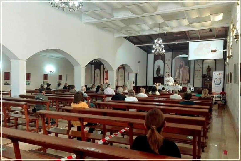 El aforo de los templos de Tenerife pasa al 75 %