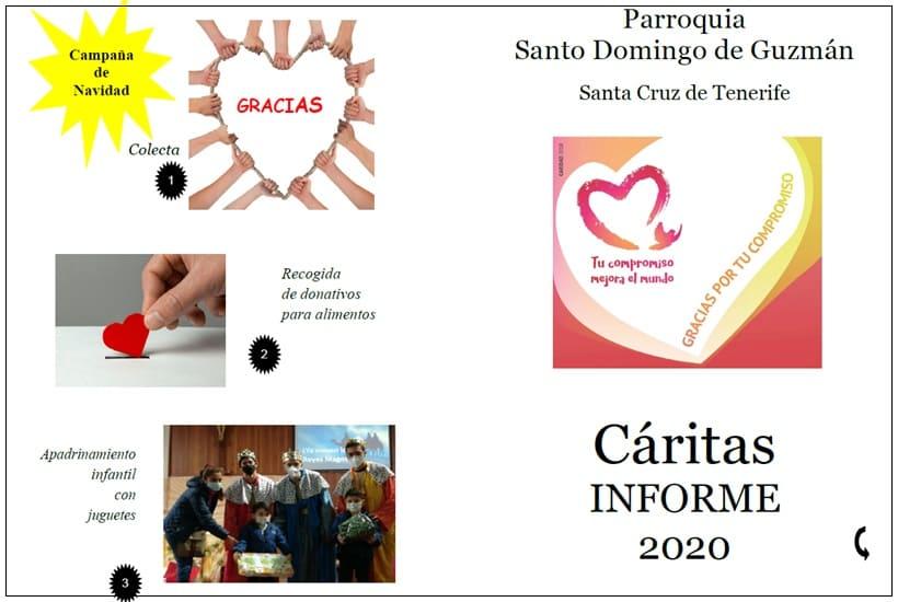 Informe Cáritas parroquial 2020