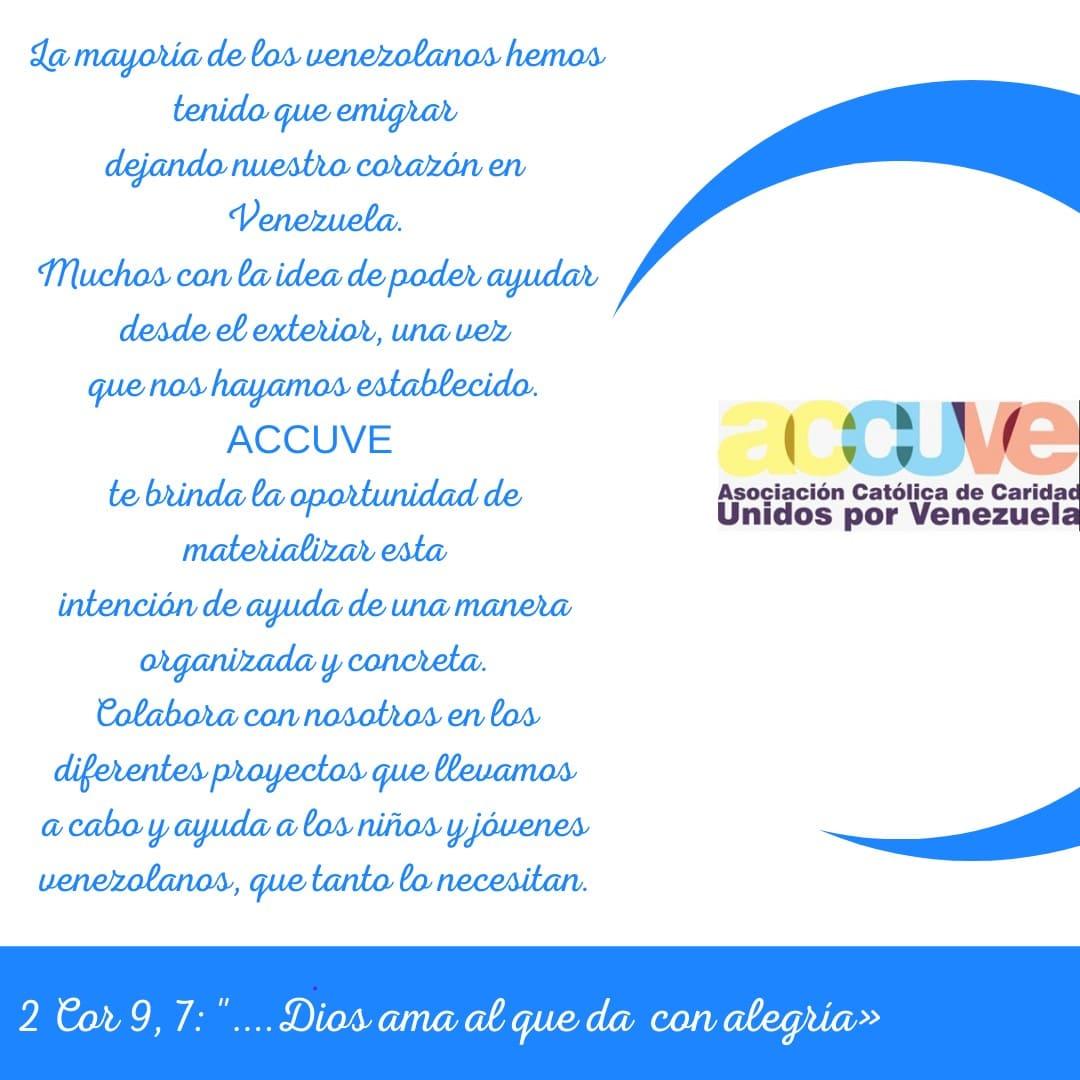 Asociación Católica de Caridad Unidos x Venezuela ACCUVE